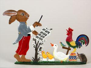 Wilhelm Schweizer Standing Easter Ornaments/Figurines