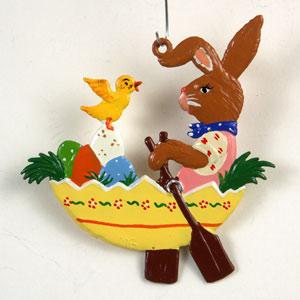 Wilhelm Schweizer Hanging Easter Ornaments