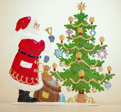Wilhelm Schweizer Santa Claus Figurines