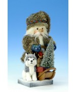 TEMPORARILY OUT OF STOCK - North Pole Santa Christian Ulbricht Nutcracker