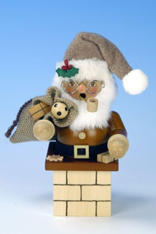 TEMPORARILY OUT OF STOCK Christian Ulbricht Santa Claus in Chimney