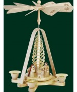 Nativity and Tree Christmas Pyramid - TEMPORARILY OUT OF STOCK