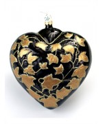 Mouth Blown Glass Ornament 'Extra Large Heart'