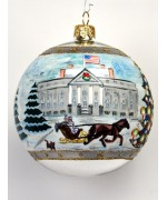 Linda Tripp's Limited Edition 'Second in a Series of Historical White House Ornaments'