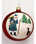 TEMPORARILY OUT OF STOCK - Mouth Blown Glass Ornament Dieter H. Rausch's Ltd. Edition Ornament