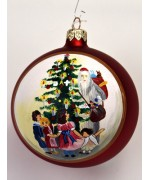 TEMPORARILY OUT OF STOCK - Mouth Blown Glass Ornament 'Dieter H. Rausch's Ltd. Edition Ornament'