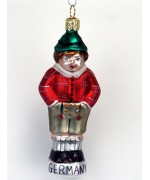 Mouth Blown Glass Ornament 'Little German Boy'
