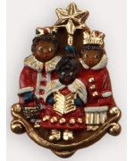 Wax Ornament Hand Painted 'Three Kings'