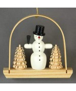 "TEMPORARILY OUT OF STOCK <BR><BR> Christmas ""Snowman"" Ornament"