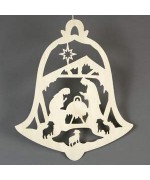 TEMPORARILY OUT OF STOCK <BR><BR> German Nativity Window Hanging