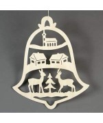 TEMPORARILY OUT OF STOCK <BR><BR> German Window Hanging Pyramid Deer Village