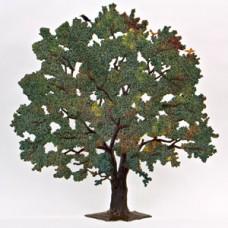 Chestnut Tree with Bird Fall Standing Pewter Wilhelm Schweize