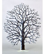 Oak Tree Winter Standing Pewter Wilhelm Schweizer