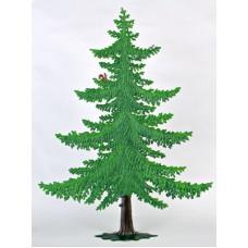 Large Summer Tree Standing Pewter Wilhelm Schweizer