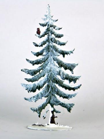 Fichte Pine Tree Winter Standing Pewter Wilhelm Schweizer