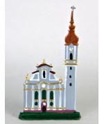 Marienmuenster Miniature Standing Pewter Wilhelm Schweizer