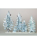 TEMPORARILY OUT OF STOCK - Tannenwald Winter Standing Pewter Wilhelm Schweizer