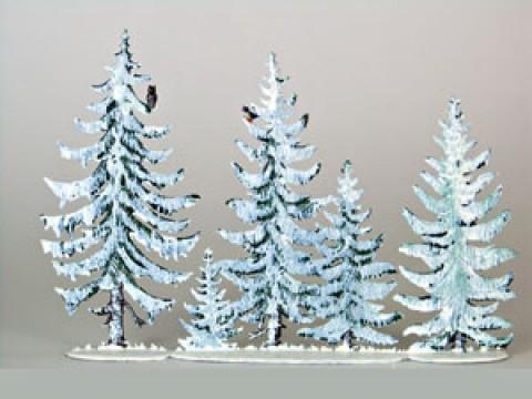 Tannenwald Winter Standing Pewter Wilhelm Schweizer