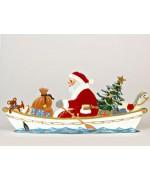 Sailor Santa Anno 1990 Christmas Pewter Wilhelm Schweizer