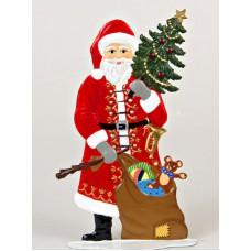 Old St. Nick Anno 1985 Christmas Pewter Wilhelm Schweizer
