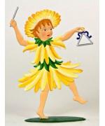 Summer Fairy Standing Pewter Wilhelm Schweizer