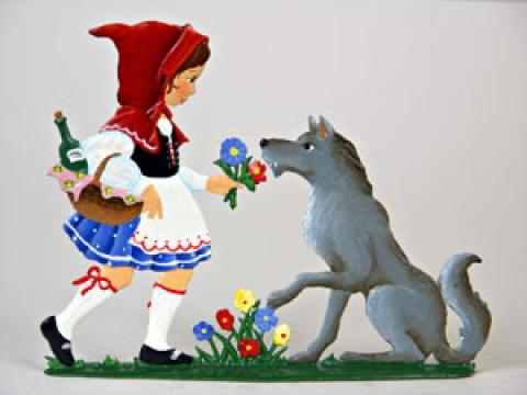 Wilhelm Schweizer Fairytale Pewter Little Red Riding Hood
