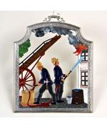 Firefighter - Feuerwehrmann Window Wall Hanging Wilhelm Schweizer