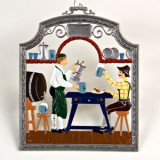The Beer Drinker Window Wall Hanging Wilhelm Schweizer
