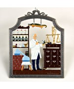 Pharmacist - Apotheke Window Wall Hanging Wilhelm Schweizer