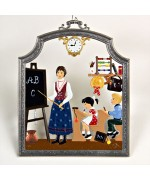The Teacher Window Wall Hanging Wilhelm Schweizer