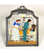 The Nurse Window Wall Hanging Wilhelm Schweizer