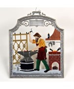 The Blacksmith Window Wall Hanging Wilhelm Schweizer