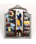 The Bookworm Window Wall Hanging Wilhelm Schweizer