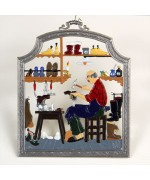 The Cobbler Window Wall Hanging Wilhelm Schweizer
