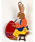 Wilhelm Schweizer Easter Oster Pewter Easter  Osterhase Artist