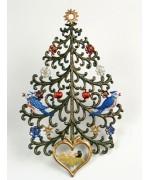 Weihnachtsbaum mit Krippe Christmas Pewter Wilhelm Schweizer