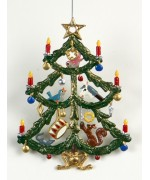 Christbaum Spielzug Christmas Pewter Wilhelm Schweizer - TEMPORARILY OUT OF STOCK