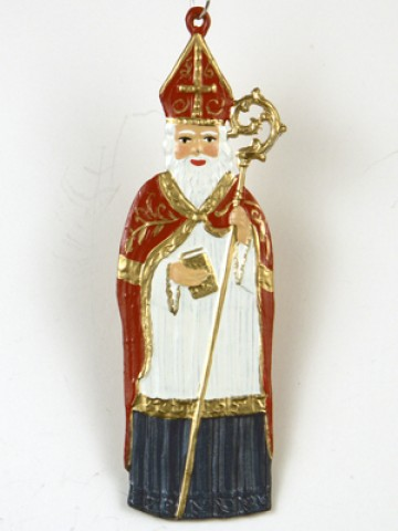 TEMPORARILY OUT OF STOCK - St. Nikolaus Christmas Pewter Wilhelm Schweizer