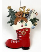 TEMPORARILY OUT OF STOCK - Nicolausstiefel Christmas Pewter Wilhelm Schweizer