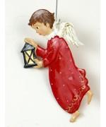 Engel mit Laterne Christmas Pewter Wilhelm Schweizer