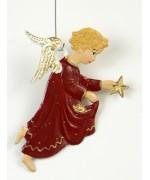 Engel mit Stern Christmas PewterWilhelm Schweizer