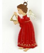 Engel mit Triangel Christmas Pewter Wilhelm Schweizer