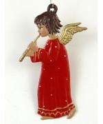 Engel mit Floete Christmas Pewter Wilhelm Schweizer
