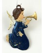 Engel mit Trompete Christmas Pewter Wilhelm Schweizer