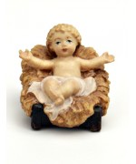 TEMPORARILY OUT OF STOCK Baby Jesus in Crib - MD