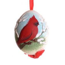 Peter Priess of Salzburg Hand Painted Egg CHRISTMAS