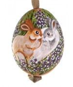 TEMPORARILY OUT OF STOCK - Peter Priess of Salzburg Hand Painted Easter Egg