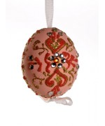 Peter Priess of Salzburg Hand Painted Easter Egg CHRISTMAS - TEMPORARILY OUT OF STOCK