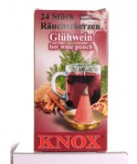 HOT WINE PUNCH Incense Cones Raeucherkerzen