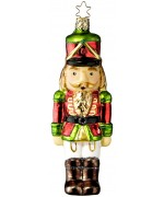 Inge-Glas German Glass Ornament Nutcracker